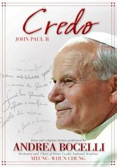 Andrea Bocelli In Credo: John Paul II on DVD