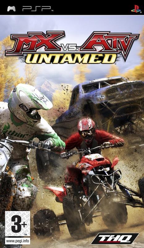 MX vs ATV Untamed (Essentials) for PSP
