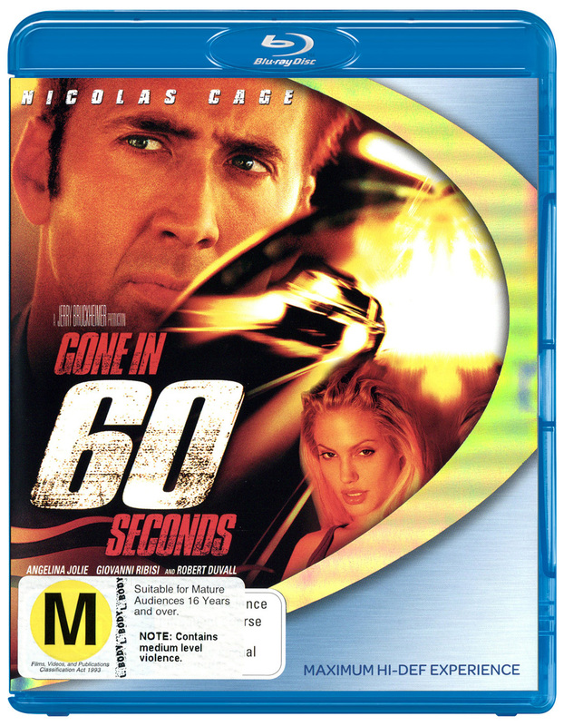 Gone In 60 Seconds on Blu-ray