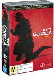 Godzilla Showa Classics - Volume 1 Box Set on DVD image
