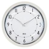 1950's Style Wall Clock - Cream