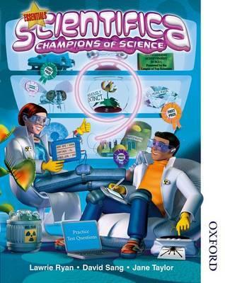 Scientifica Student Book 9 Essentials (Levels 3-6) by David Sang