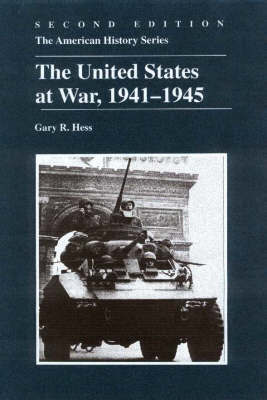 United States at War 1941-1945 by Gary R. Hess image