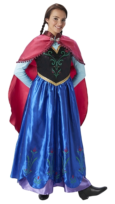 Disney Frozen: Adult Anna Costume (Small)