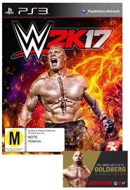 WWE 2K17 for PS3