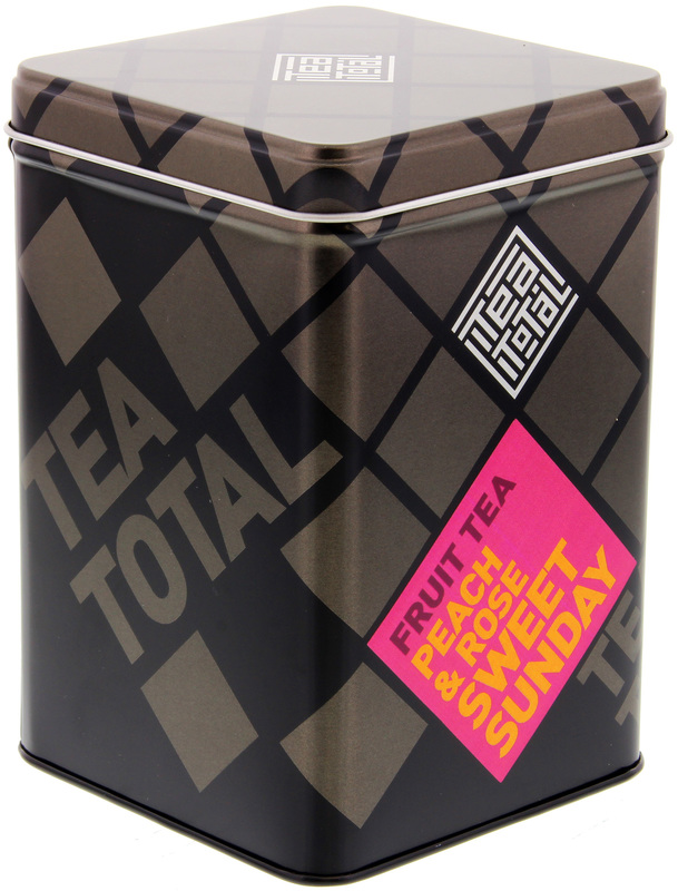 Tea Total - Peach & Rose Sweet Sunday Tea (100g Tin)