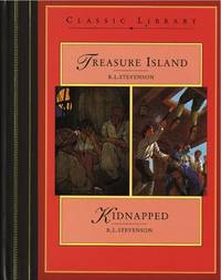 Treasure Island: AND Kidnapped by Robert Louis Stevenson image