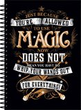 Harry Potter: A5 Notebook - Magic