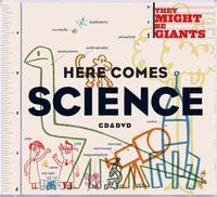 Here Comes Science (CD/DVD) by They Might Be Giants image