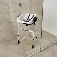 Charli: 2-in-1 Baby Chair - White image