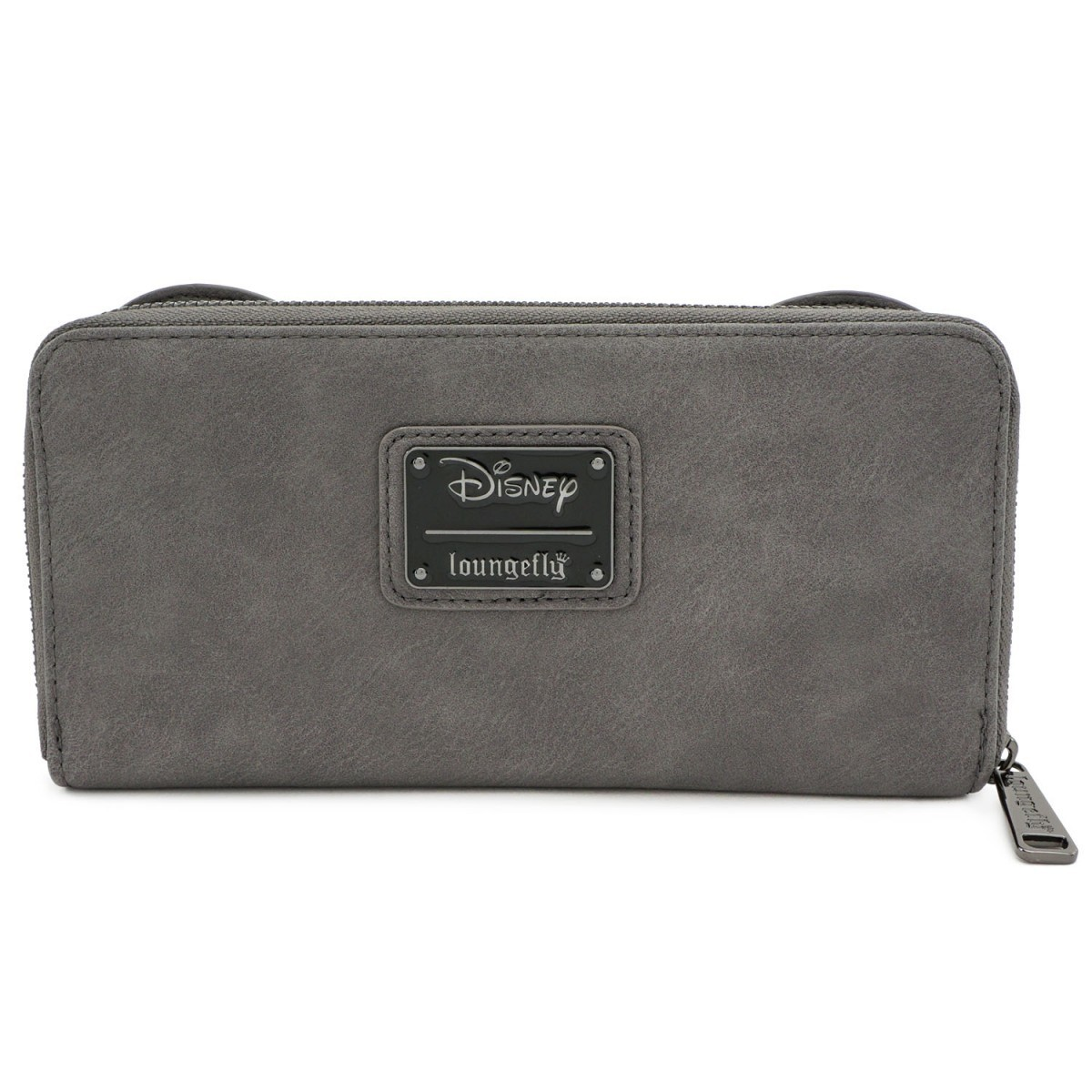 Loungefly: Mickey Mouse - Minnie Grey with Bow Zip Wallet image
