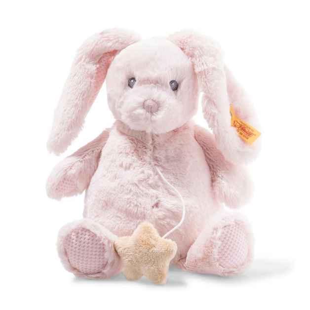 Steiff:Soft Cuddly Friends - Belly Rabbit Music Box