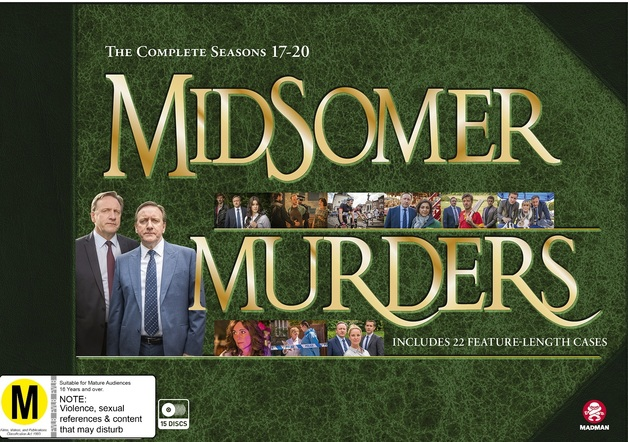Midsomer Murders: Season 17 - 20 Collection (Limited Edition) on DVD