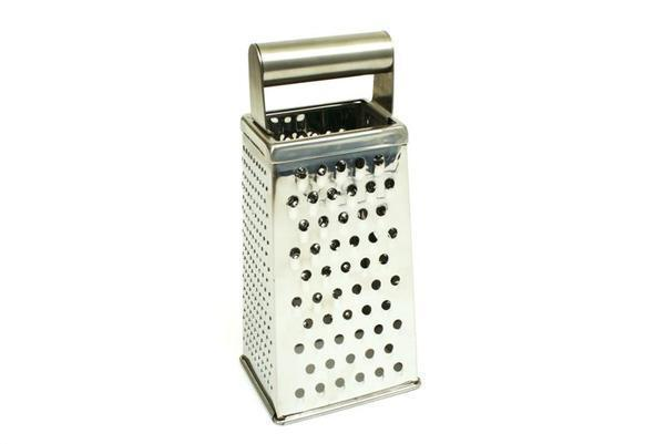 Stainless Steel Four Sided Deluxe Grater