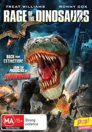 Rage of The Dinosaurs on DVD
