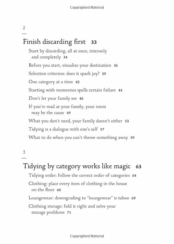 magical art of tidying up
