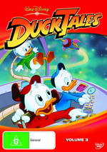DuckTales - Vol. 3 on DVD