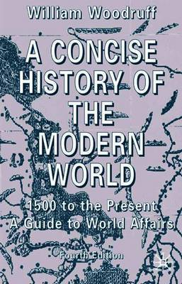 A Concise History of the Modern World by William Woodruff image