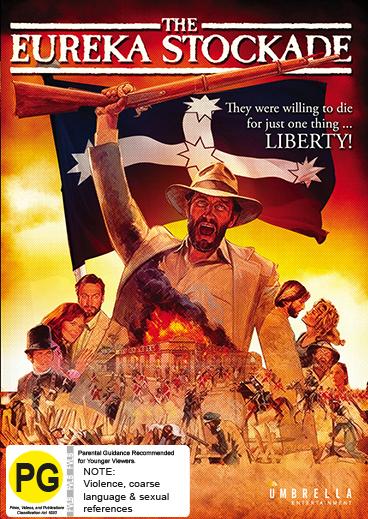 The Eureka Stockade (Mini Series) on DVD