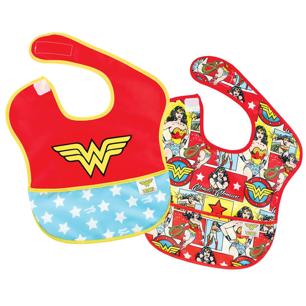 DC Comics Super Bib 2 Pack - Wonder Woman