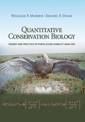 Quantitative Conservation Biology by William F. Morris image