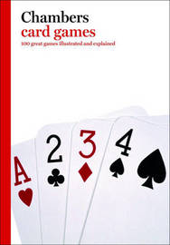 Chambers Card Games by Peter Arnold image
