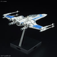 Star Wars 1/72 Blue Squadron Resistance X-Wing - Model Kit image