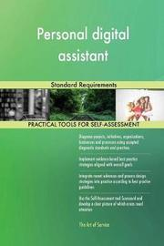 Personal Digital Assistant Standard Requirements by Gerardus Blokdyk image