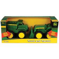 John Deere Big Scoop Dump Truck & Tractor/Loader Set (38cm)