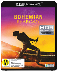 Bohemian Rhapsody on UHD Blu-ray