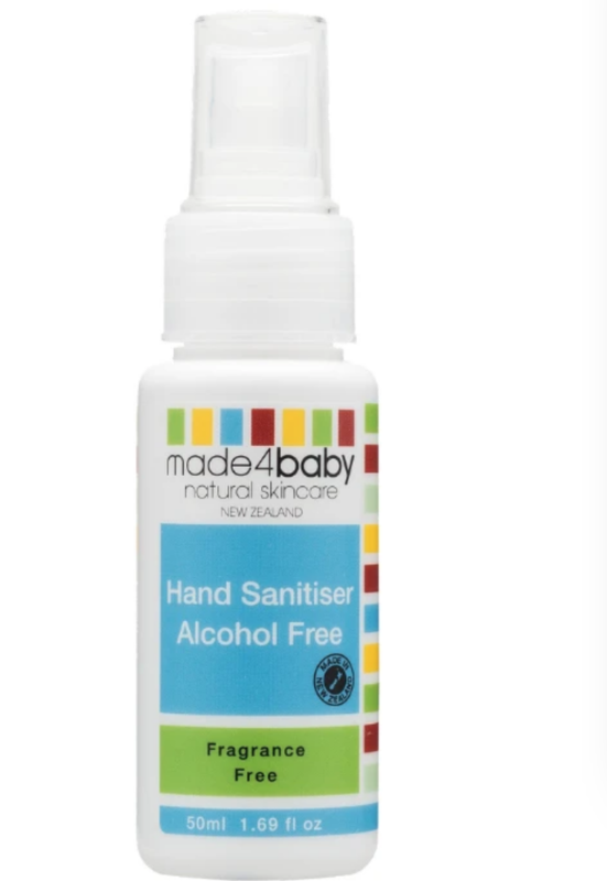 Made4Baby: Hand Sanitiser (Alcohol Free) 50ml