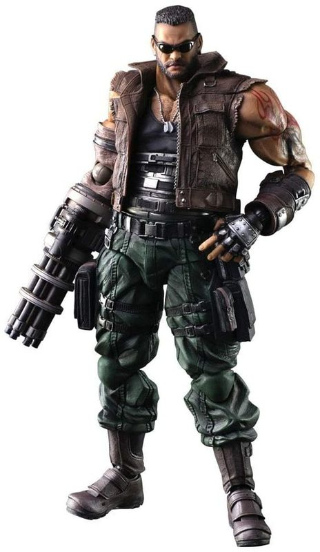 Final Fantasy VII Remake: Barret Wallace - Play Arts Kai Figure