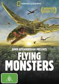 David Attenborough Presents Flying Monsters on DVD
