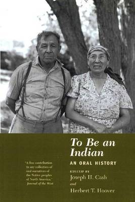 To be an Indian by Joseph H. Cash