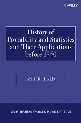 A History of Probability and Statistics and Their Applications before 1750 by Anders Hald image