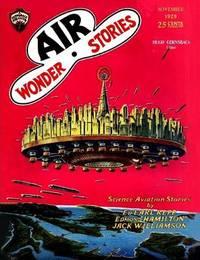 Air Wonder Stories, November 1929 by Ed Earl Repp