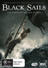 Black Sails Season 2 on DVD