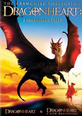 Dragonheart 2 on DVD