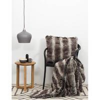 Bambury Faux Fur Throw (Chinchilla) image