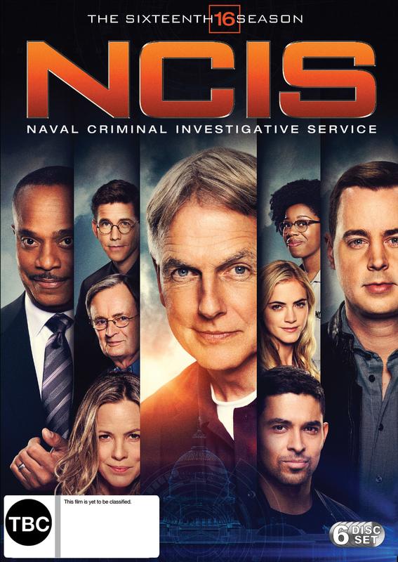 NCIS: The Complete Sixteenth Season on DVD