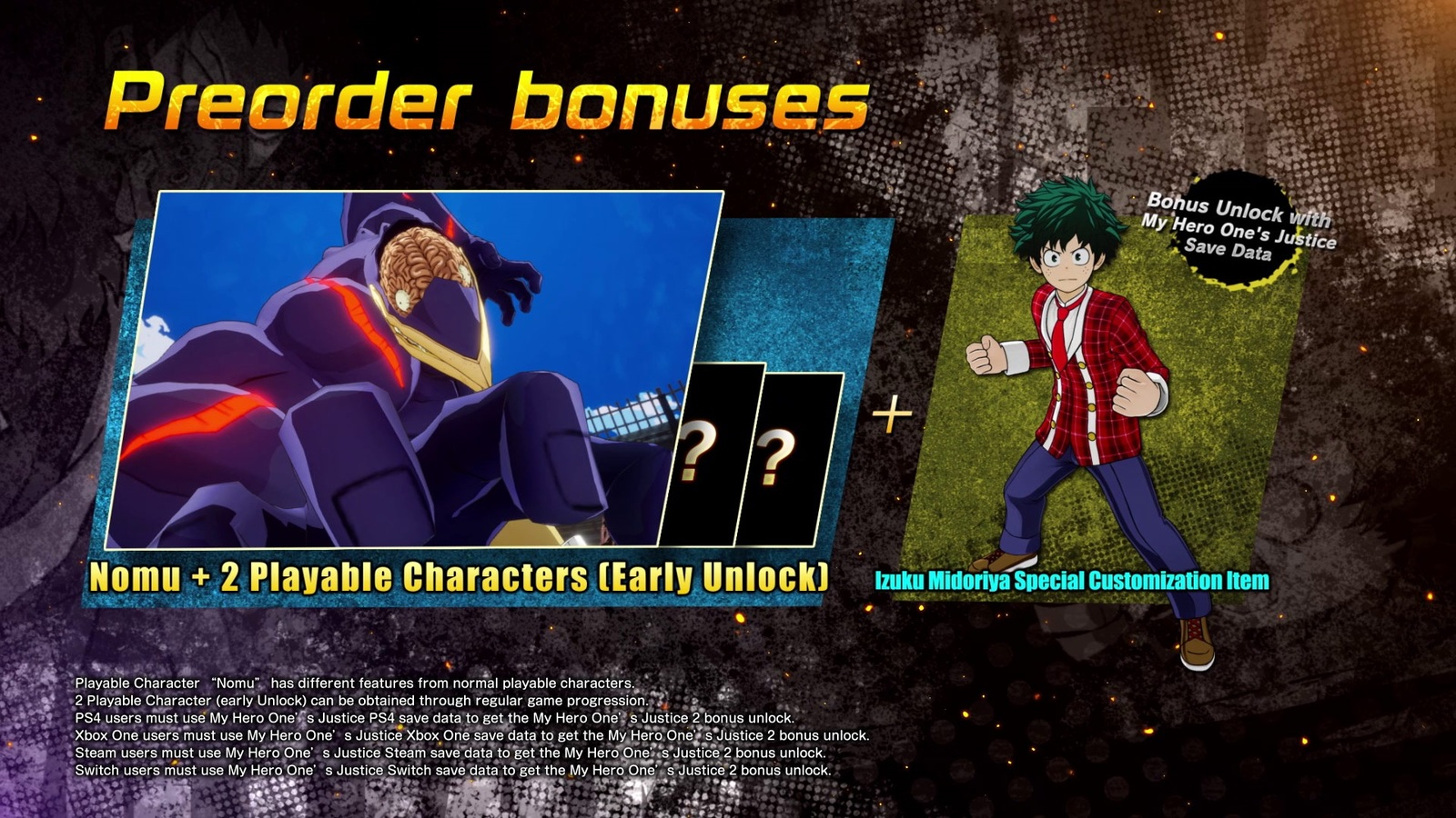 My Hero One's Justice 2 for PS4 image