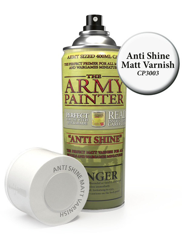 Army Painter: Anti Shine Matt Varnish