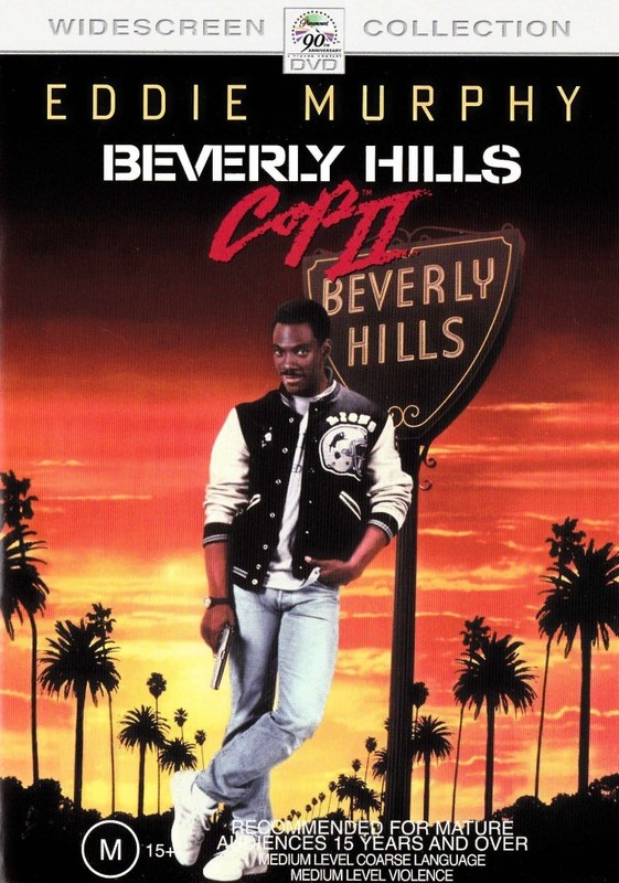 Beverly Hills Cop 2 on DVD