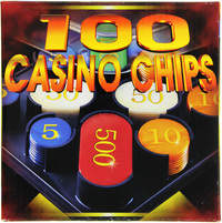 Casino Chips Plastic 100pc