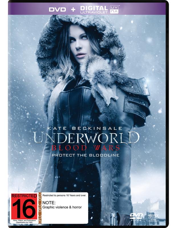 Underworld: Blood Wars on DVD