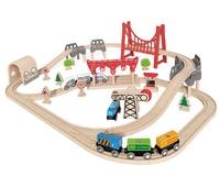 Hape: Double Loop Railway Set
