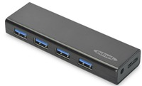 Ednet 4 Port USB 3.0 Powered Slim Hub image