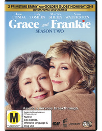 Grace and Frankie Season 2 on DVD