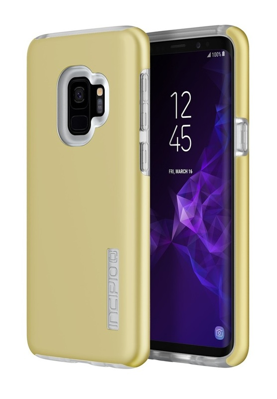 Incipio: DualPro Case for Samsung GS9 - Iridescent Rusted Gold