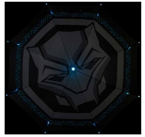 Marvel: Black Panther - Movie Logo Umbrella image